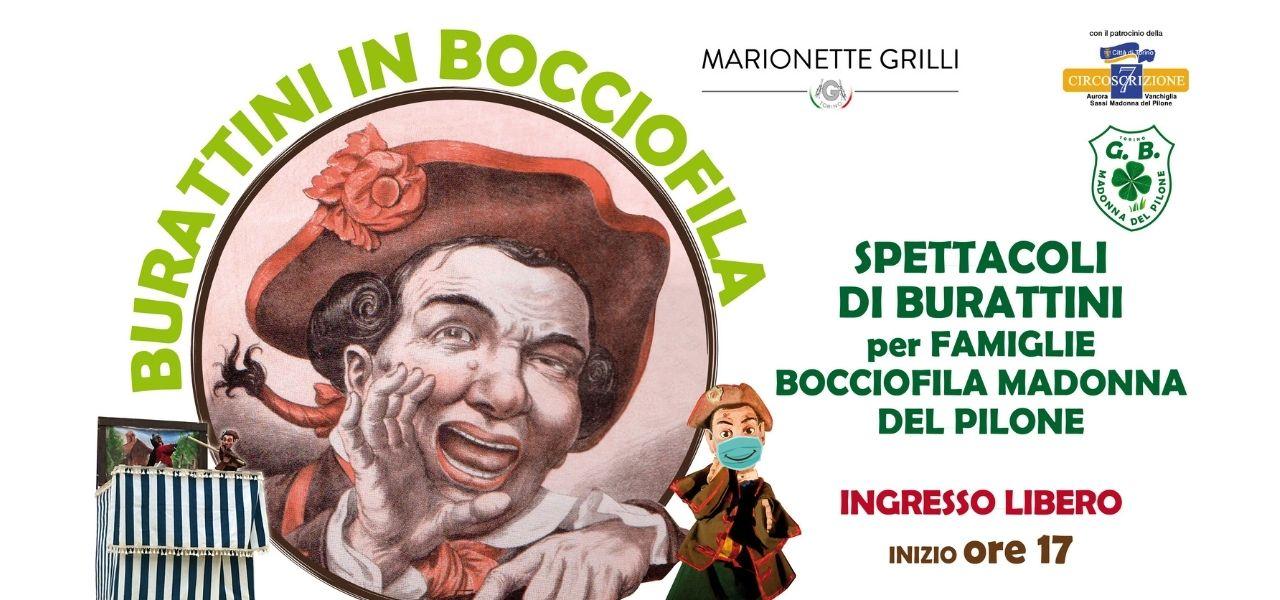 Burattini in Bocciofila: rassegna estiva per famiglie