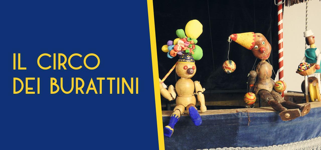 il circo dei burattini marionette grilli alfateatro