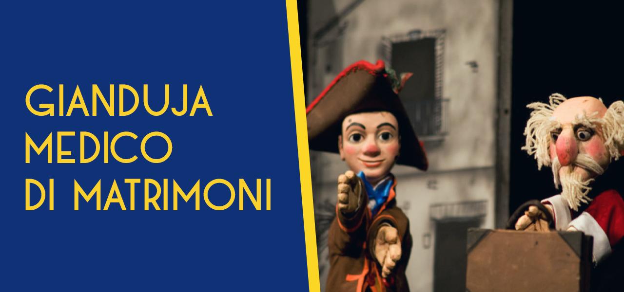 """Gianduja medico di matrimoni Repertorio """"burattini e tradizione"""""""