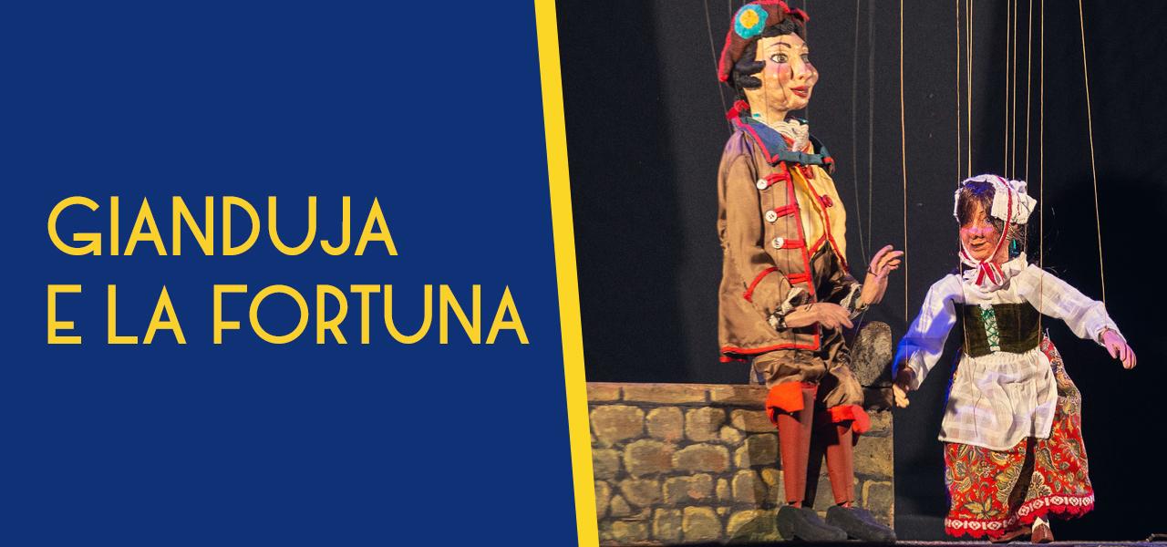 """gianduja e la fortuna Repertorio """"Marionette e Tradizione"""""""