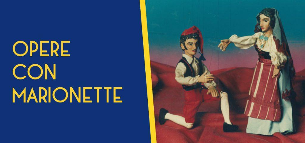 """Repertorio """"Opere con marionette"""""""